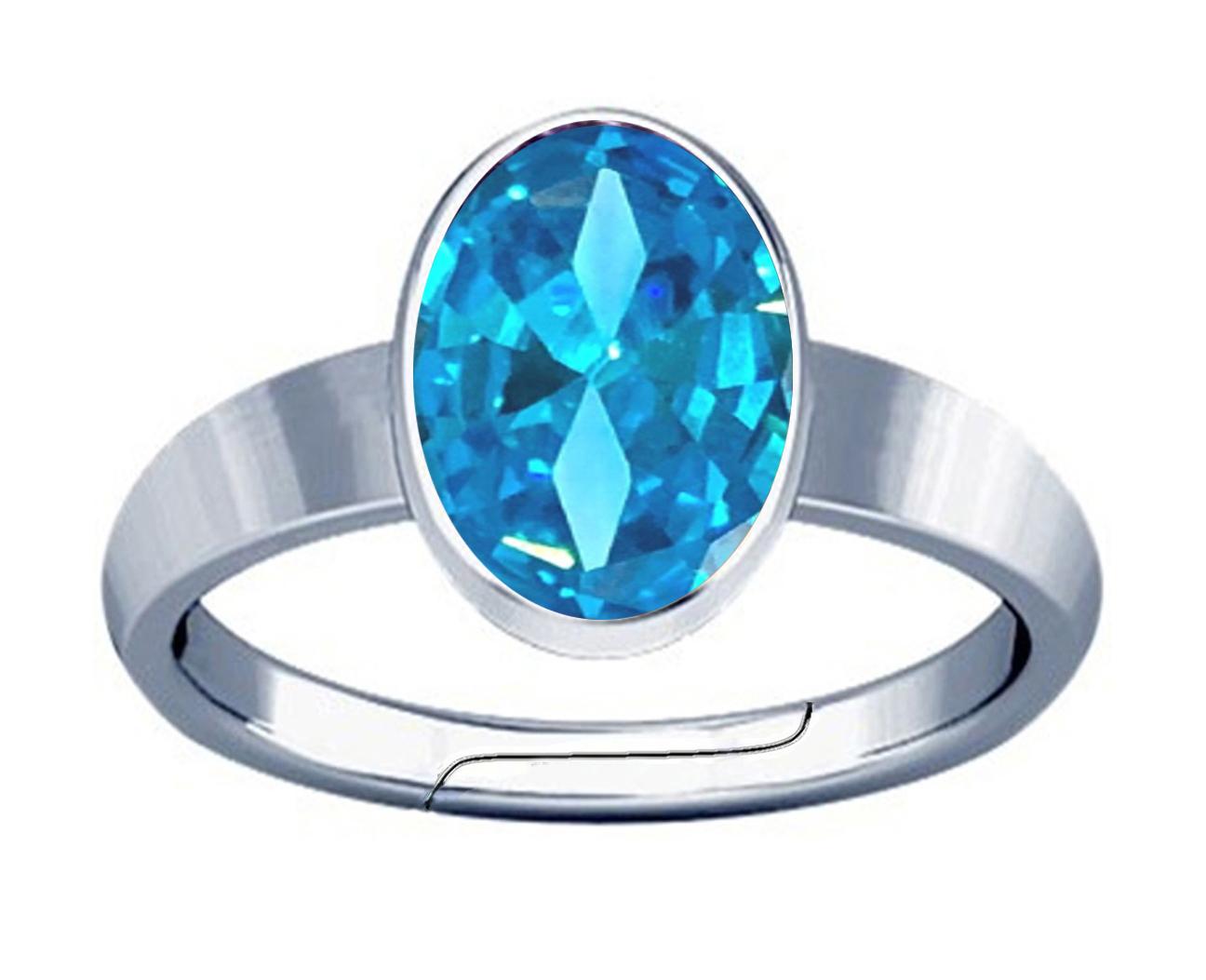 aquamarine silver