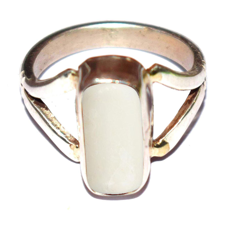 itelian white moonga silver