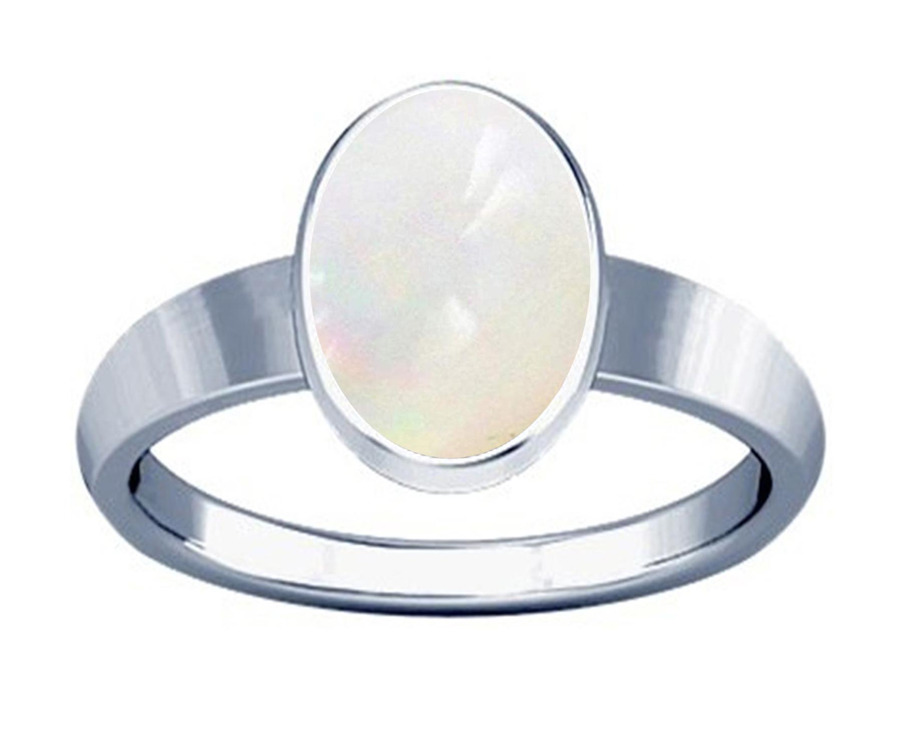 white opal silver