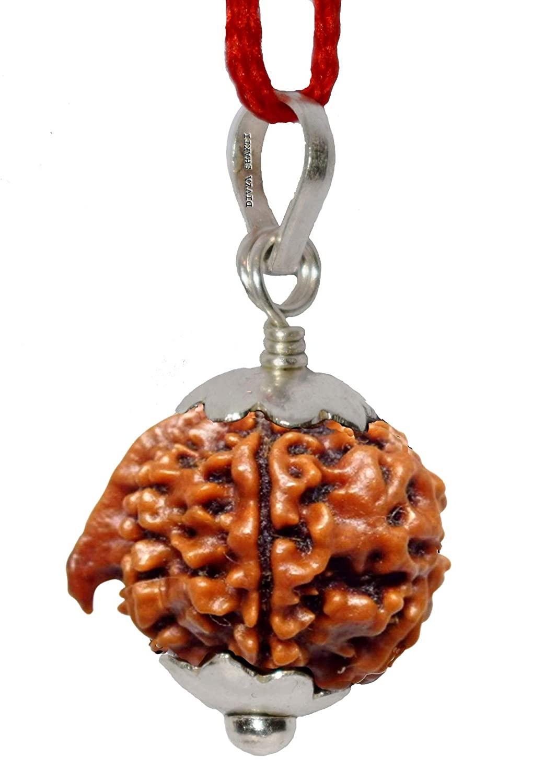 gauri shakra rudraksha pendant