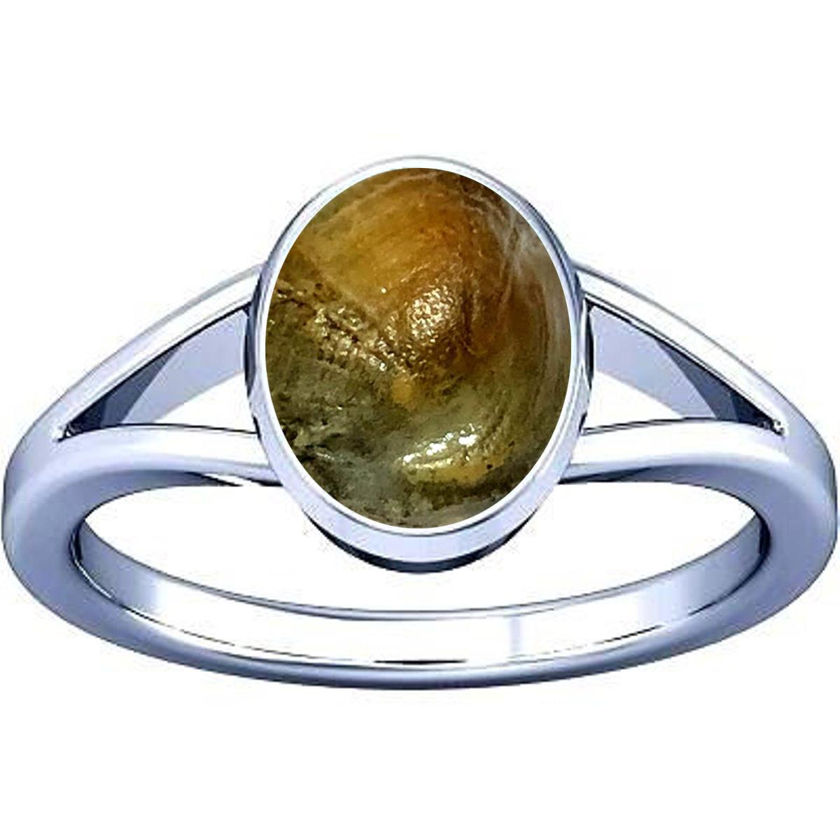 maccha mani silver ring