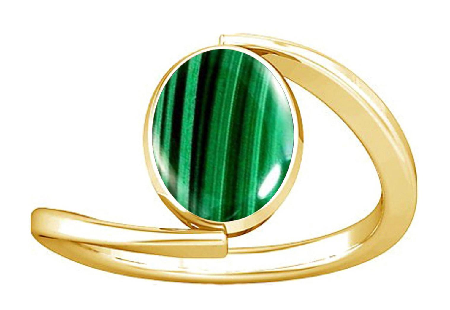 malachite women panchdhatu ring